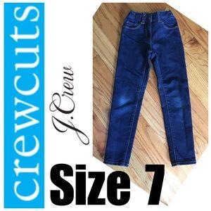 Girls Sz 7 J Crew Toothpick Jeans